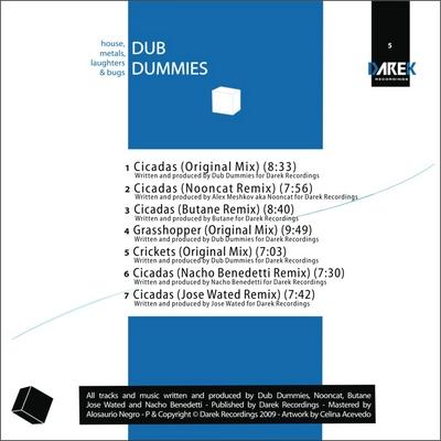 [DRK 005] - DUB DUMMIES, NOONCAT, BUTANE and more! Drk005B